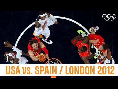 🇺🇸 USA Vs. 🇪🇸Spain - 🏀 Basketball Final London 2012!