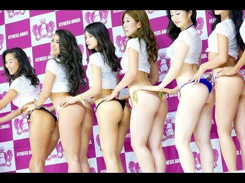 おしり日本一が決定! 美尻コンテスト Fitness Angel 2017 SPORTEC 岡部友 アミン カレダ Khaleda amin