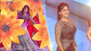 Megha Akash Majestic Dance Performance | Ananda Vikatan Cinema Awards 2018