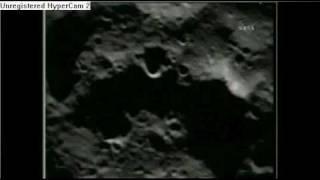NASA LCROSS - PRE-Impact / IMPACT Animation