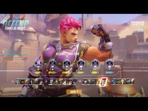 Zarya Wrecking Ball on Anubis - High Energy - Is it enough?