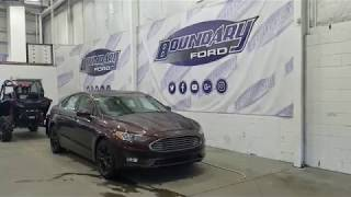 2019 Ford Fusion SE 151A W/ 1.5L, SunRoof Overview | Boundary Ford
