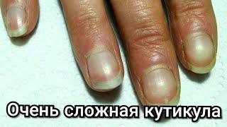 1 часть. ЖЕСТЬ, а не работа!!! + ремонт ногтя полигелем. Результат не понравился