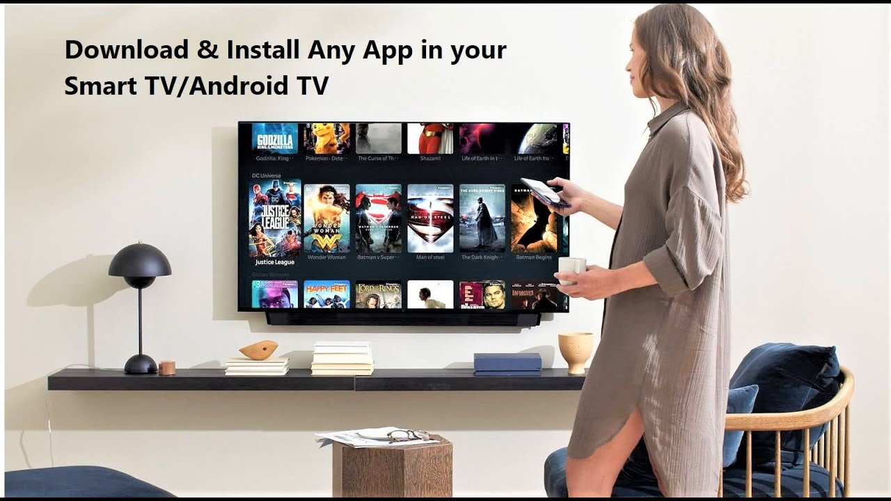 How To Install Any App In Smart Tv That Is Not Available In Your Tv Store Youtube