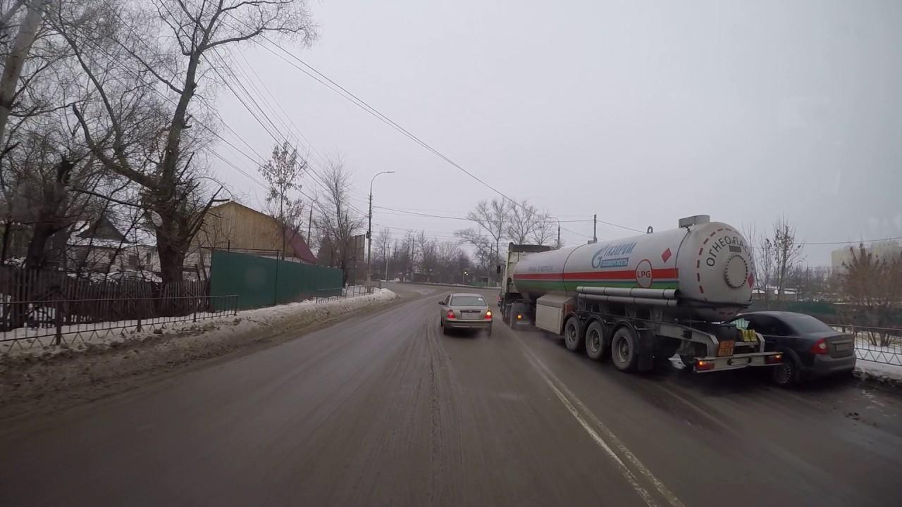 Газовоз  попал в аварию