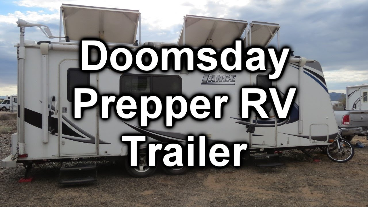 Doomsday Preppers Lance Trailer at Rubber Tramp Rendezvous 2017