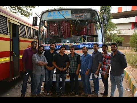 Team KSRTC Blog Sticker Work on Thiruvalla Super Deluxe