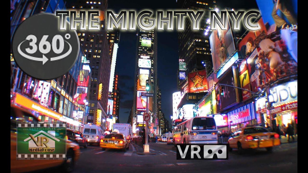 The Mighty New York City - Through MY eyes. A VR 360º Video Experience