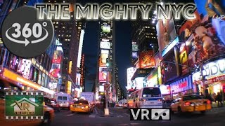 The Mighty New York City - Through MY eyes. A VR 360º Video Experience(Revisiting.. and Re-Mixing my first 360 video ever.. Labor Day in NYC made with my own custom built Sony 5 camera rig. I've been to New York City in the past, ..., 2015-12-14T05:51:10.000Z)