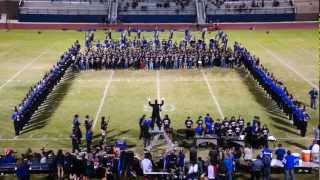 Band Day 2012: Land of 1000 Dances/Go Big Blue