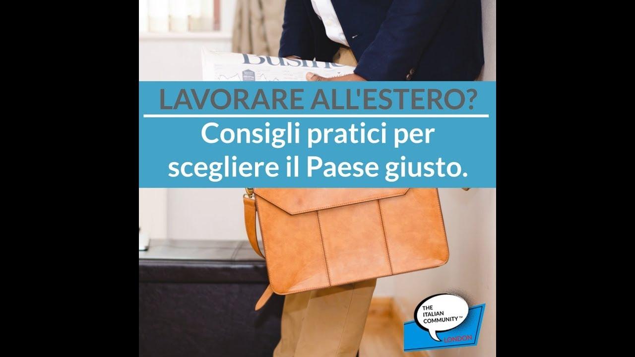 Offerte Di Lavoro All Estero 2019 The Italian Community