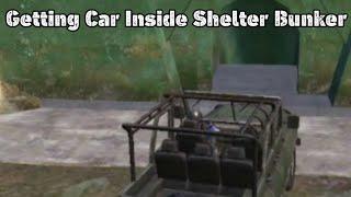 Getting Inside Shelter Bunker In PUBG Mobile In Hindi