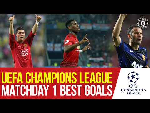 Back in the UEFA Champions League | Our Best Matchday 1 Goals! | Manchester United