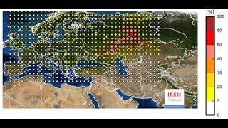 Nuvem radioativa sobre a Europa