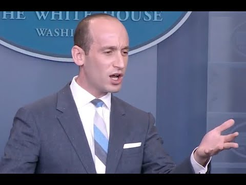 The EXPLOSIVE QUESTIONING of Stephen Miller on TRUMP
