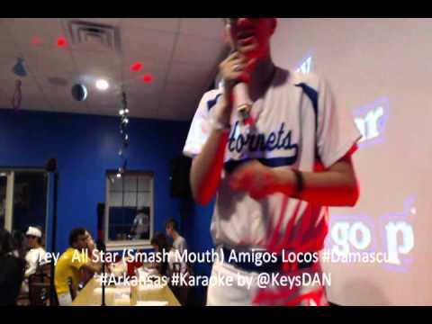 Trey   All Star Smash Mouth Amigos Locos #Damascus #Arkansas #Karaoke by @KeysDAN