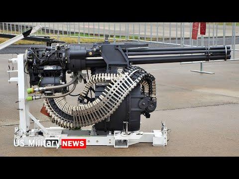 The M61 Vulcan is a Gatling Gun on Steroids