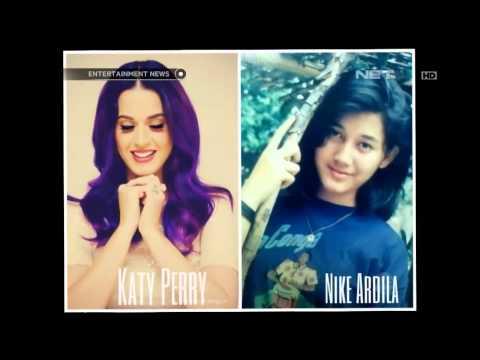 Kesamaan Lagu Nike Ardila dan Katy Perry