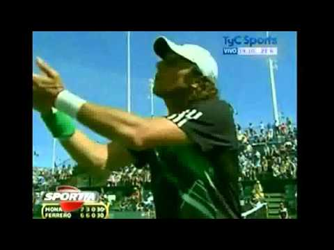 Juan Monaco - argues with umpire
