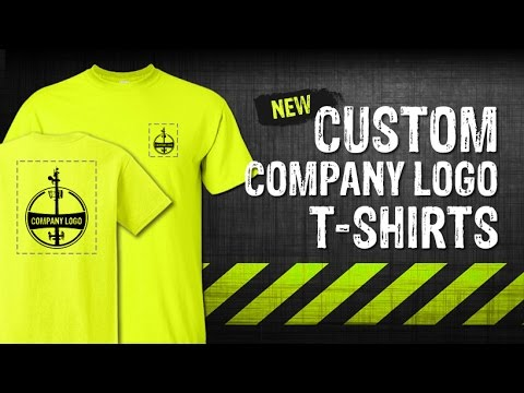Custom logo company work shirts gme supply youtube for T shirts for business logo