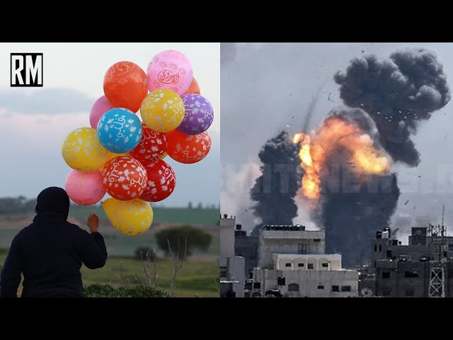 Israel Responds to Balloons With Airstrikes on Gaza