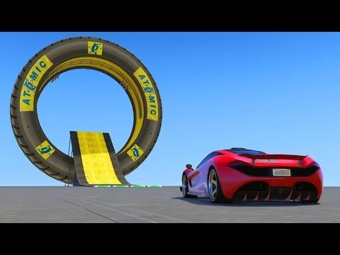 SALTOS INCREIBLES!!! - CARRERA GTA V ONLINE - GTA 5 ONLINE