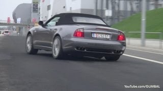 Maserati Spyder Cambiocorsa - Almost crashed + Start up + Revs!