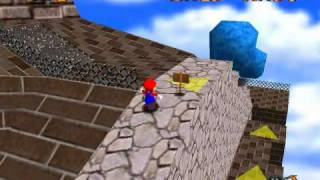 Super Mario 64 - Star Guide #22 - 100 Coins in Whomp's Fortress