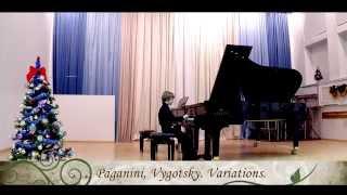 Скачать Paganini Vygodskiy Variations Artemy Sokolovsky