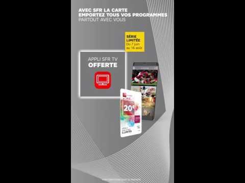 SFR La Carte avec SFR TV