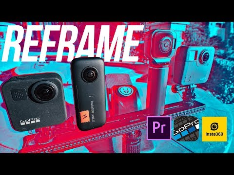 Edit Insta360 Or Qoocam Like A BOSS On PC Or MAC W/ GoPro FX Reframe UPDATE + Premiere 2020