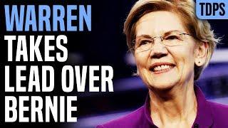 Elizabeth Warren Building a Lead