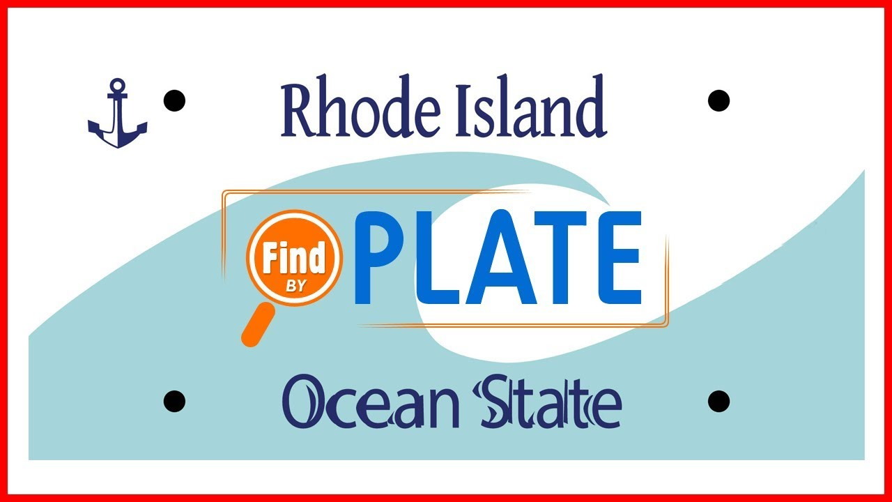 Looking Up License Plate Info in Rhode Island