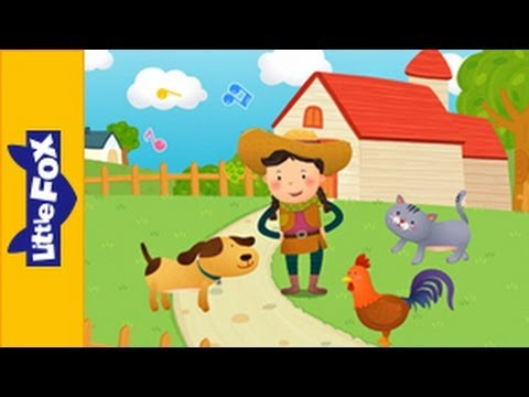 I Had a Rooster | Song for Kids by Little Fox