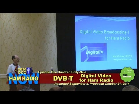 Episode 169 - DVB-T Digital Video, from the DCC on
