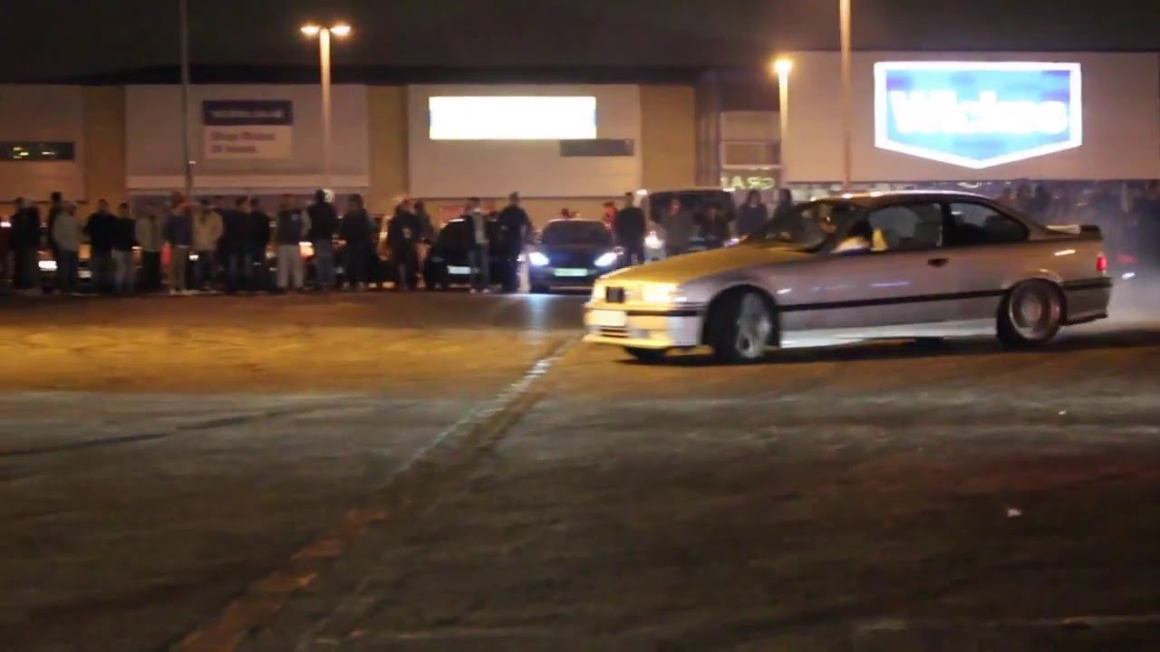Sunday Night Car/ Drift Meet! Enfield/ Edmonton 28/2/16 ...