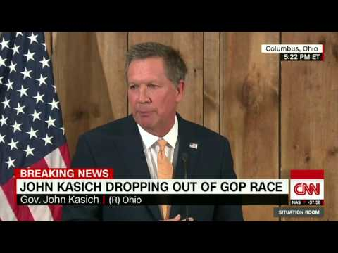 John Kasich Drops Out Of Presidential Race