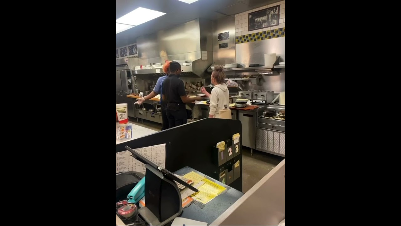 Download Hood Fight At Waffle House #hoodfight #2021