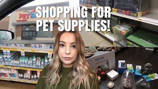 Shopping For Pet Supplies + Haul! | Pet Store Vlog