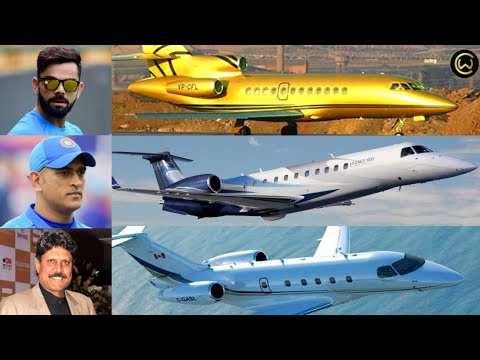 Indian cricketers who own private jets ?