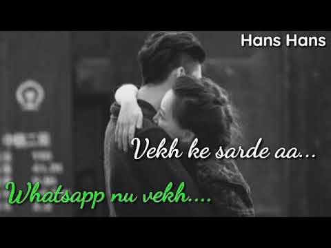 New Punjabi Sad Song Whatsapp Status Video 2020 | New ...