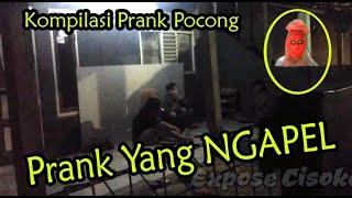 Kompilasi Prank Pocong Lari Kocar kacir pocongnya ngejar #Prankpocong #videolucu #prank