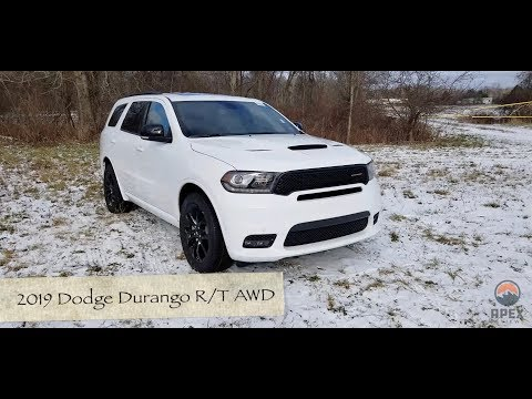 Review: 2019 Dodge Durango R/T AWD