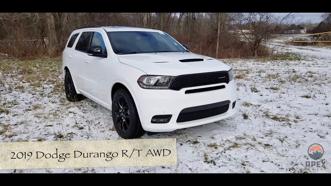2020 Dodge Durango Rt Review.Review 2019 Dodge Durango R T Awd