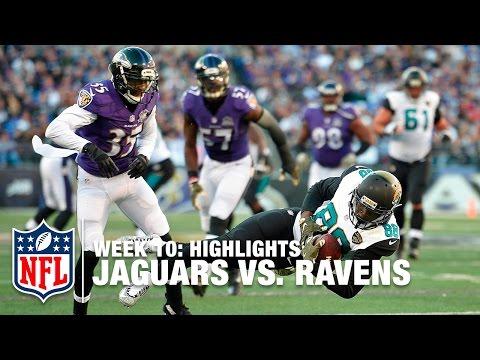 Jaguars vs. Ravens   Week 10 Highlights   NFL
