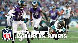 Jaguars vs. Ravens | Week 10 Highlights | NFL