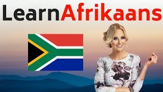 Learn Afrikaans While You Sleep 😀  Most Important Afrikaans Phrases and Words 😀 English/Afrikaans