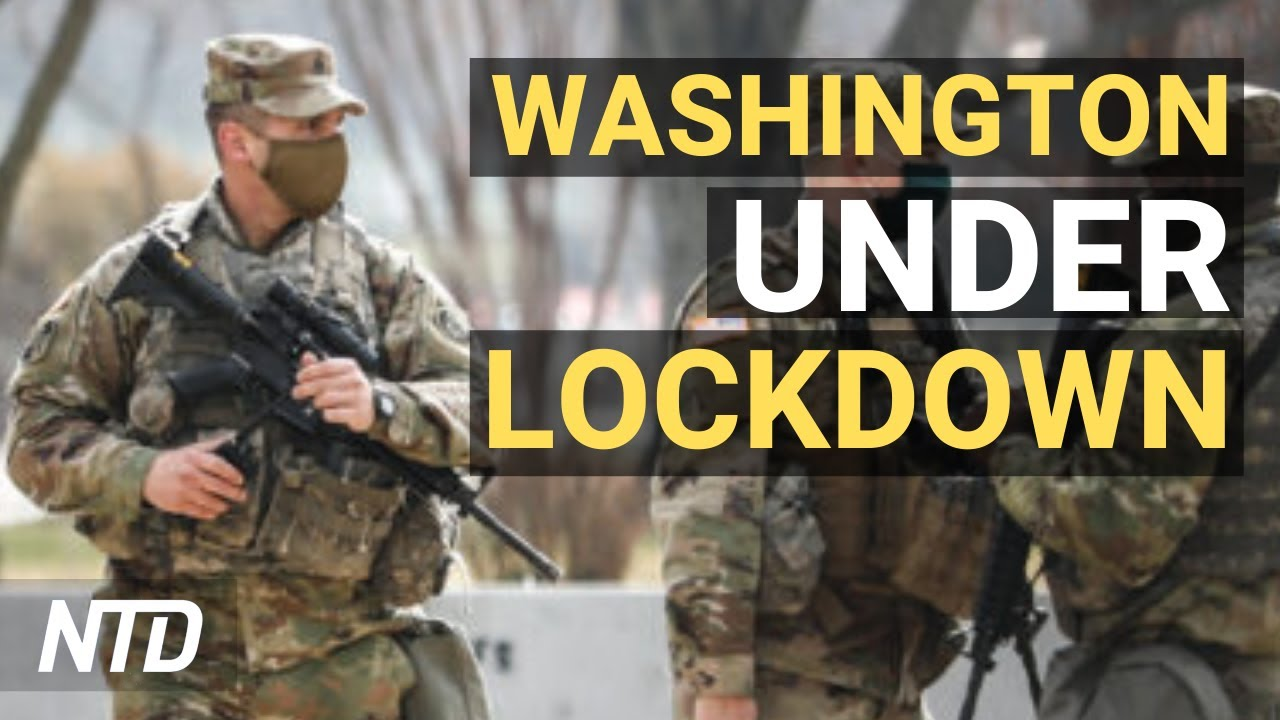 Washington Under Lockdown: A Tour of the Capitol Under Military Watch - YouTube