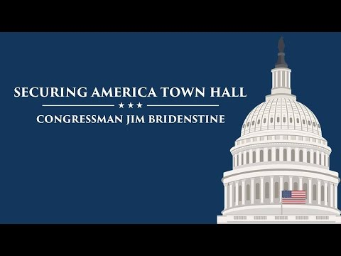 Congressman Jim Bridenstine Town Hall - April 11th, 2017 - Tulsa, Oklahoma