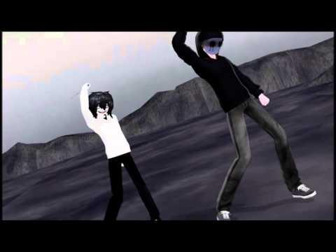 【MMD】Jeff The Killer & Eyeless Jack (Kiss Me 愛してる)